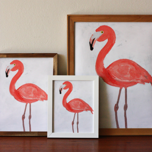 Flamingos make29